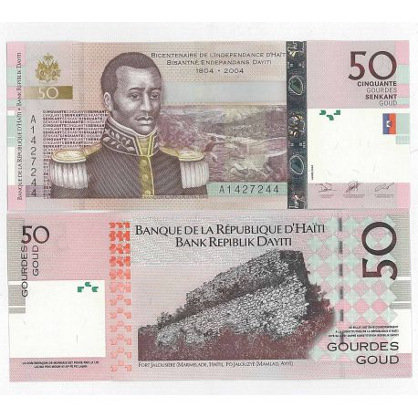 Haiti - Pk N° 274 - Billet de 50 Gourdes