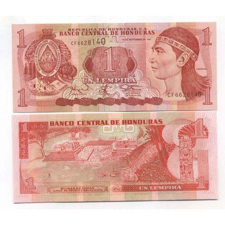 Billets de banque Honduras Pk N° 79 - 1 Lempiras