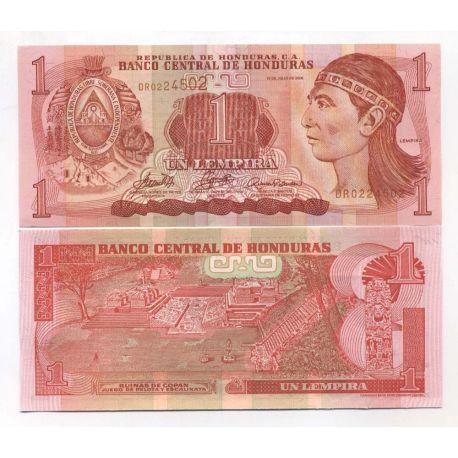 Billet de banque HONDURAS Pk N° 86 - 10 Lempira