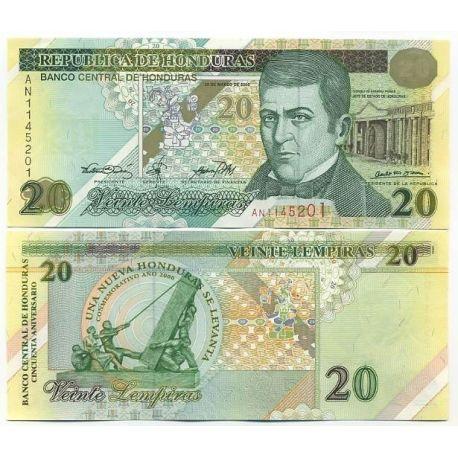 Honduras - Pk N° 83 - Billet de 20 Lempiras
