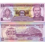 Sammlung von Banknoten Honduras Pick Nummer 89 - 1 Lempira