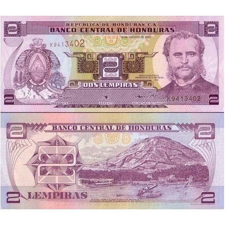 Billets banque Honduras Pk N° 999999 - 1 Lempira