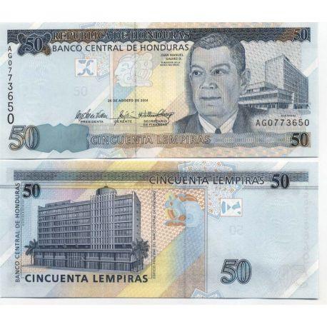Billets de collection Billet de collection Honduras Pk N° 88 - 50 Lempiras Billets du Honduras 9,00 €