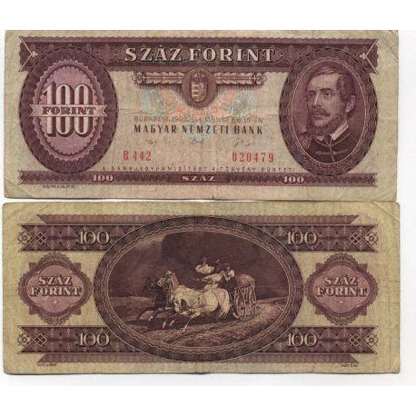 Hongrie - Pk N° 174 - Billet de 100 Forint