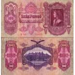 Beautiful banknote Hungary Pick number 98 - 100 Forint
