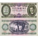 Billet de collection Hongrie Pk N° 168 - 10 Forint