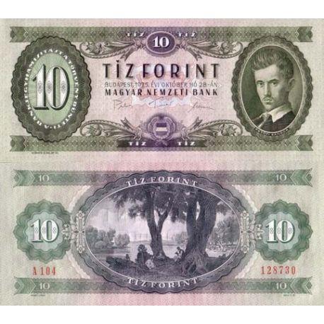 Hongrie - Pk N° 168 - Billet de 10 Forint