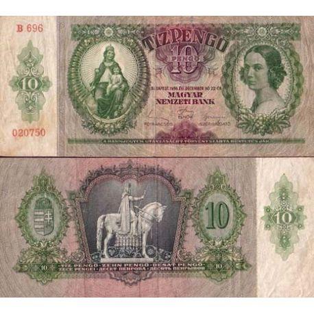 Hongrie - Pk N° 100 - Billet de 10 Pengo