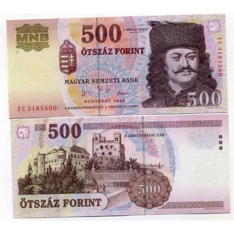 Hongrie - Pk N° 188 - Billet de 500 Forint
