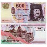 Banknoten Ungarn Pick Nummer 194 - 500 Forint