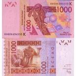 Billets collection Afrique De L'ouest Senegal Pk N° 715 - 1000 Francs