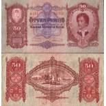 Collection of Banknote Hungary Pick number 99 - 50 Forint