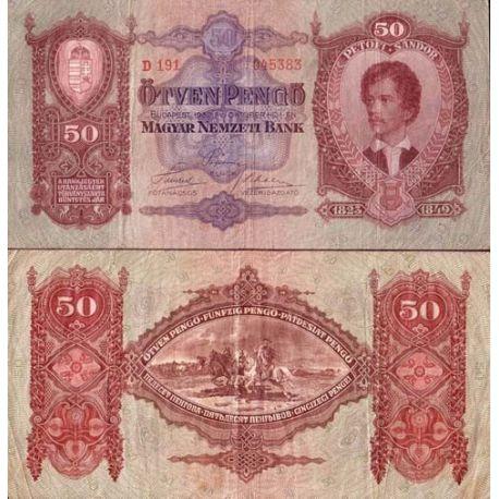 Hongrie - Pk N° 99 - Billet de 50 Pengo
