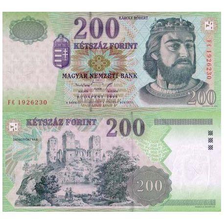 Hongrie - Pk N° 178 - Billet de 200 Forint