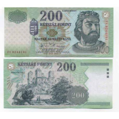 Hongrie - Pk N° 187 - Billet de 200 Forint