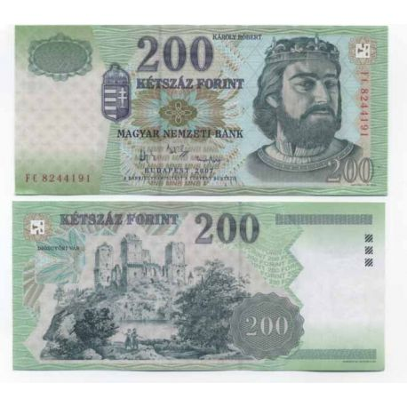 Billets collection Hongrie Pk N° 187 - 200 Forint