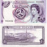 Collezione di banconote isola Di Man Pick numero 40 - 1 Livre