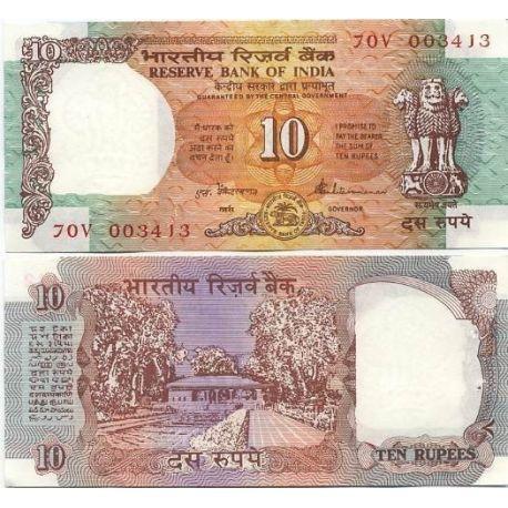 Billets collection Inde Pk N° 88 - 10 Ruppe