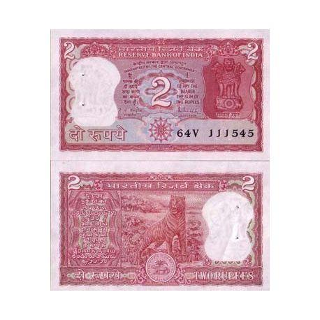 Billets de collection Billet de collection Inde Pk N° 53 - 2 Ruppe Billets d'Inde 2,50 €