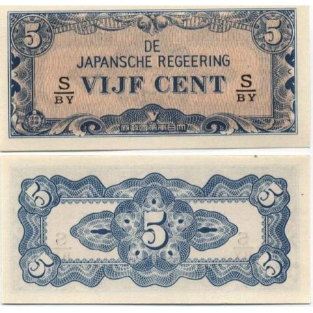 Billets collection Inde Neerlandaise Pk N° 120 - 5 Cent