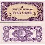 Billet de collection Inde Neerlandaise Pk N° 121 - 10 Cents