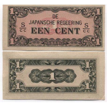 Billets de collection Billet de banque Inde Neerlandaise Pk N° 119 - 1 Cent Billets des Inde Néerlandaise 2,50 €