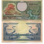 Schone Banknote indonesien Pick Nummer 77 - 3 Rupiah