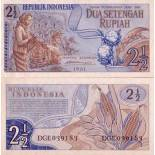 Banknote collection indonesia Pick number 79 - 3 Rupiah