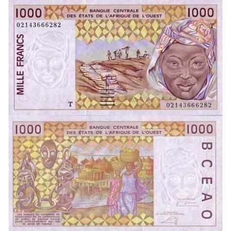 Billets banque Afrique De L'ouest Togo Pk N° 811 - 1000 Francs