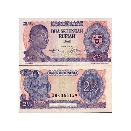 Billets collection Indonesie Pk N° 103 - 2,5 Rupiah