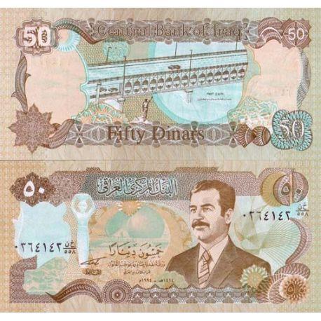 Irak - Pk N° 83 - Billet de 50 Dinars