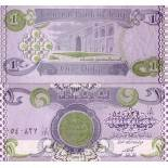 Billet de banque Irak Pk N° 69 - 1 Dinars