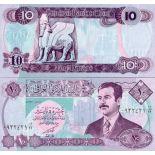 Billet de banque Irak Pk N° 81 - 10 Dinars