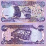 Banknoten Sammlung irak Pick Nummer 94 - 5000 Dinar
