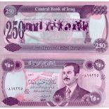 Billets de banque Irak Pk N° 85 - 250 Dinars