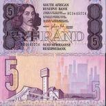Collezione banconote Sudafrica Pick numero 119 - 5 Rand 1973