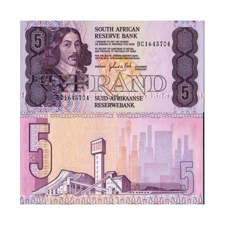 Afrique Du Sud - Pk N° 119 - Billet de 5 Rand