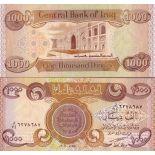 Billets de banque IRAK Pk N° 93 - 1000 Dinars
