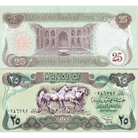 Irak - Pk N° 74 - Billet de 25 Dinars