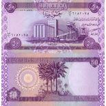 Billet de banque Irak Pk N° 90 - 50 Dinar