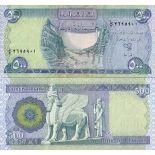 Sammlung von Banknoten irak Pick Nummer 92 - 500 Dinar
