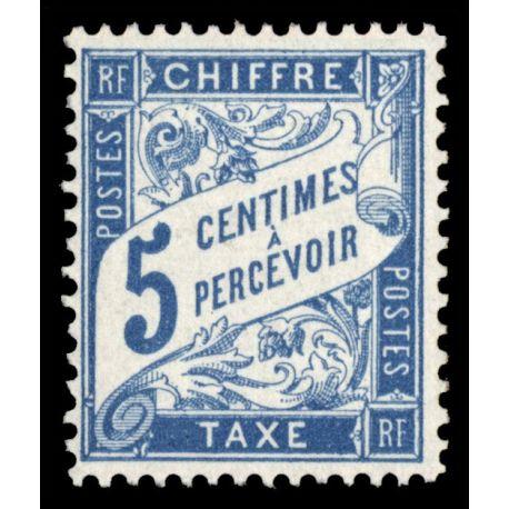 Timbre taxe France N° 28 neuf sans charnière