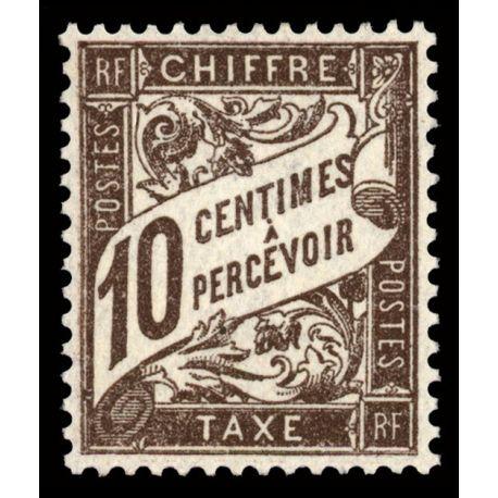Timbre taxe France N° 29 neuf sans charnière