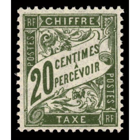 Timbre taxe France N° 31 neuf sans charnière