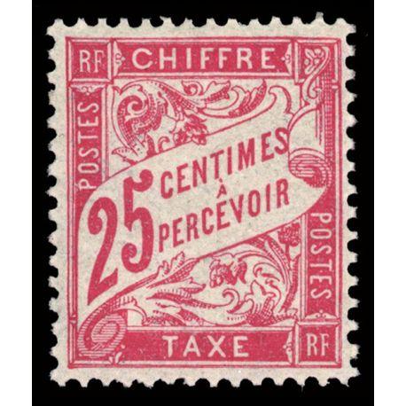 Timbre taxe France N° 32 neuf sans charnière