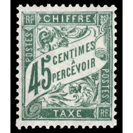 Timbre taxe France N° 36 neuf sans charnière