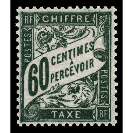 Timbre taxe France N° 38 neuf sans charnière