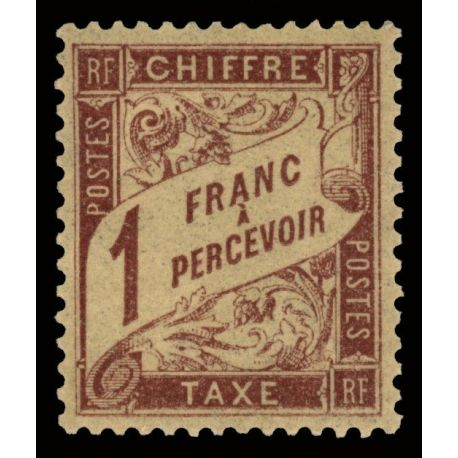 France Taxe N° 40 - Neuf(s) sans charnière