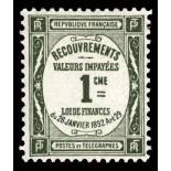 Timbre taxe France N° 43 neuf sans charnière