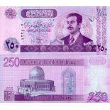 Bello banconote iraq Pick numero 88 - 250 Dinar